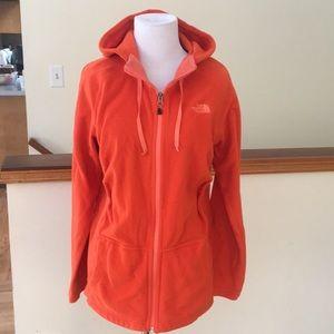 Women's The North Face Fleece hoodie jacket✨